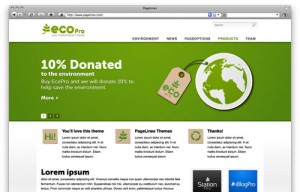 EcoPro is a full-width CMS WordPress theme