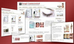 Online Shopping Cart & Catalogue: Rozge Cosmeceutical
