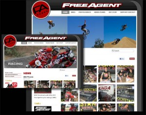 brand marketing website front page